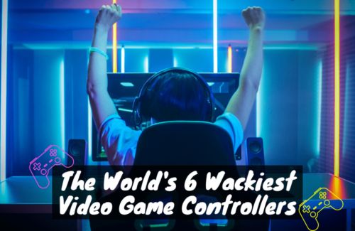 The World's 6 Wackiest Video Game Controllers