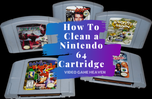 How To Clean a Nintendo 64 Cartridge