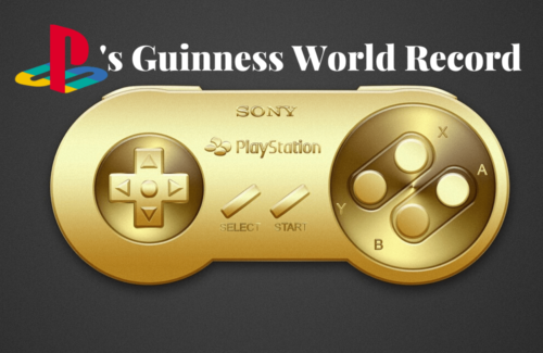 Playstation Turns 25 and Earns A Guinness World Record