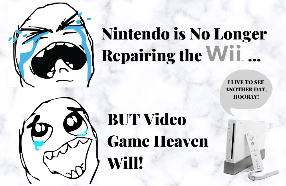 Nintendo Will No Longer Repair Wii Video Game Consoles but Video Game Heaven Will
