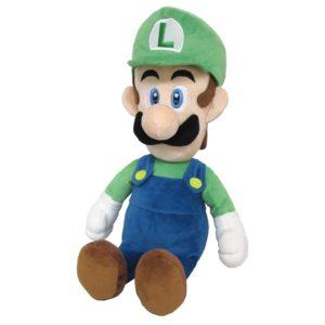 Luigi LARGE Official Super Mario All Star Collection Plush