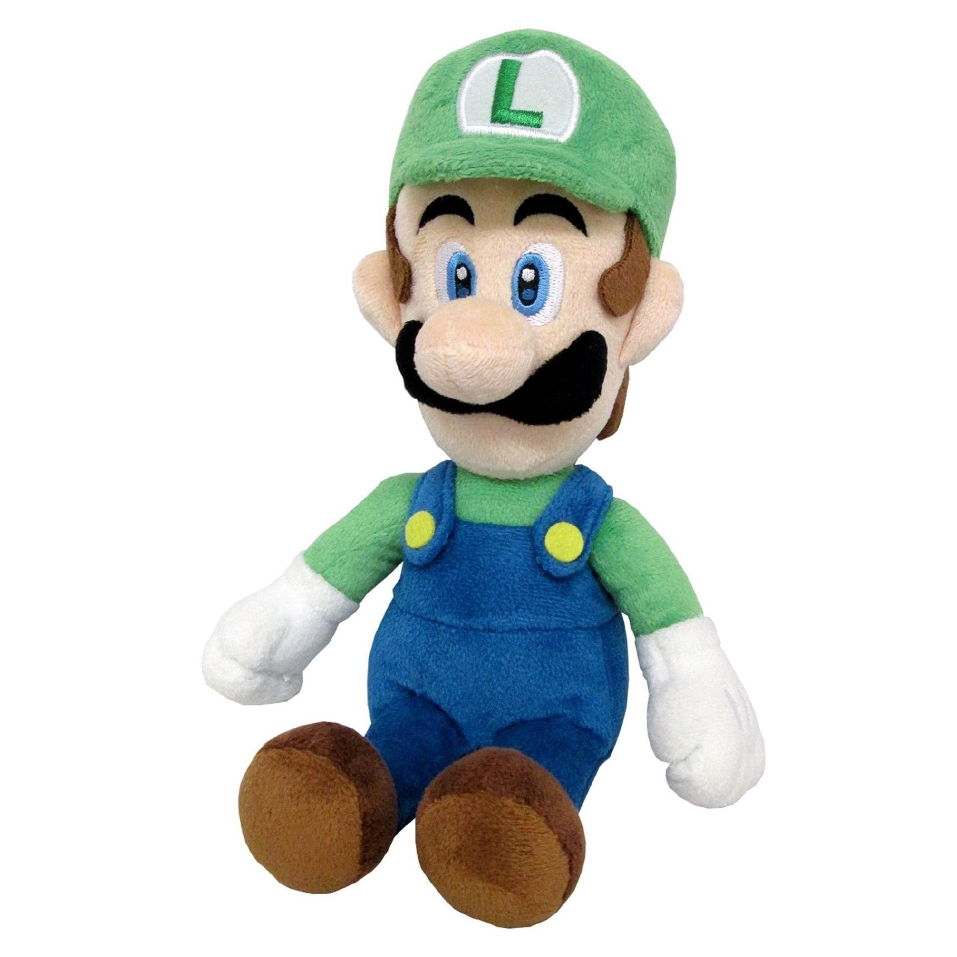 Luigi Official Super Mario All Star Collection Plush (1)
