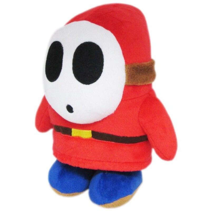 Shy Guy Official Super Mario All Star Collection Plush (1)