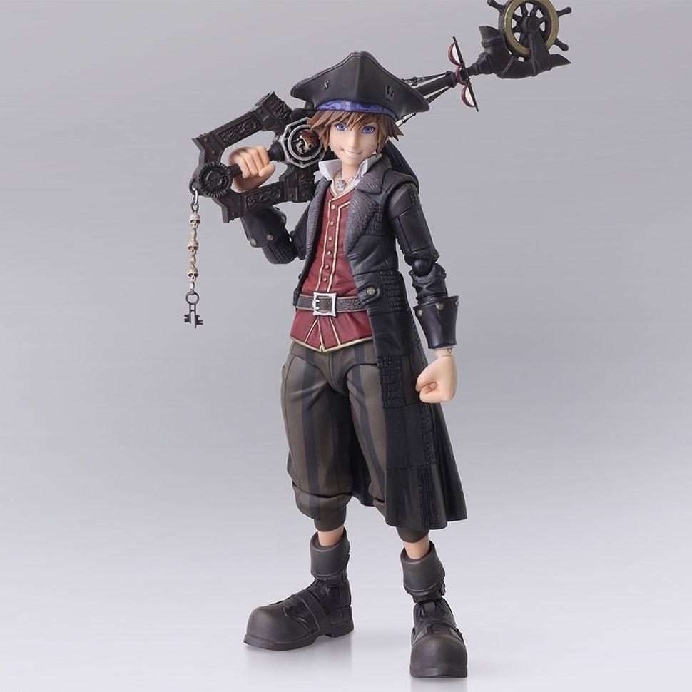 Sora Kingdom Hearts III Pirates of the Caribbean Ver. Bring Arts Figure (1)