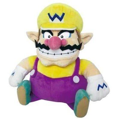 Wario Official Super Mario All Star Collection Plush (1)