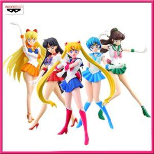 Sailor Scouts Girls Memories Figure Bundle