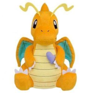 Dragonite Pokemon MoguMogu Time Banpresto Plush