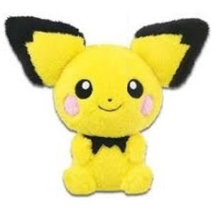 Pichu Pokemon Hokkori Iyasare Banpresto Plush