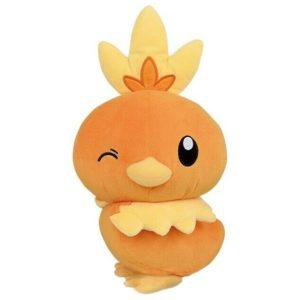Torchic Pokemon Hopepita Dekkai Banpresto Plush