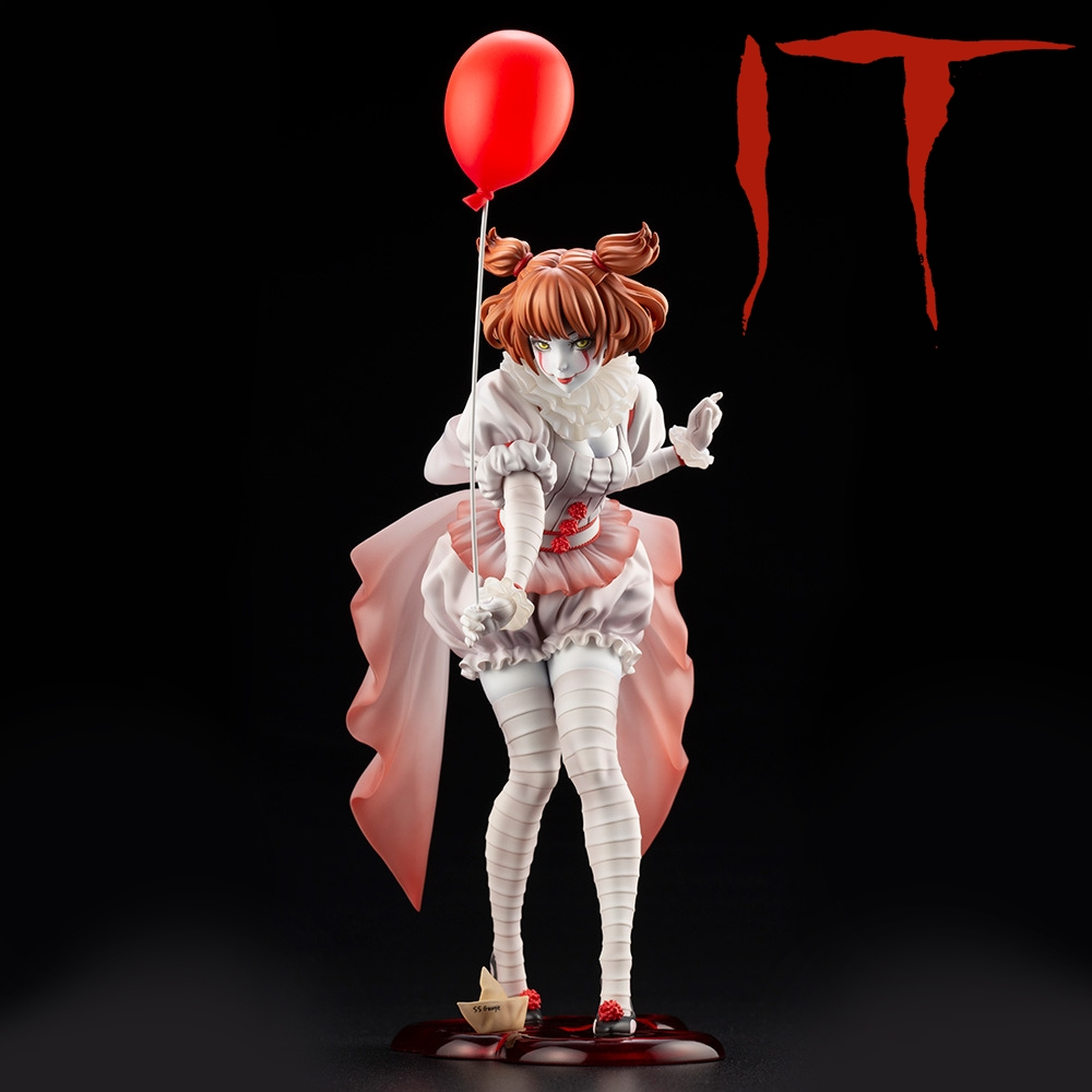 PENNYWISE BISHOUJO 17 SCALE STATUE IT 2017