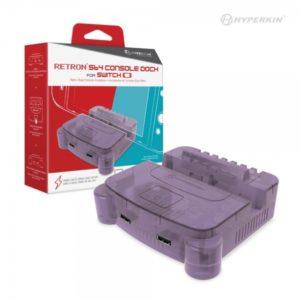 RetroN S64 Nintendo Switch Console Dock (Purple)