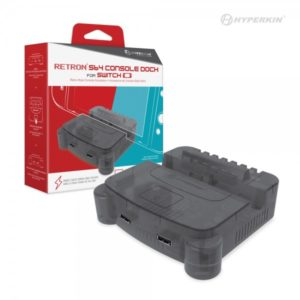 RetroN S64 Nintendo Switch Console Dock (Smoke Gray)
