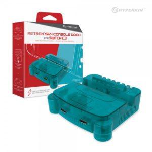 RetroN S64 Nintendo Switch Console Dock (Turquoise)