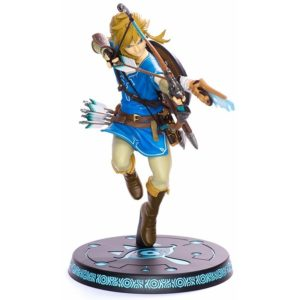 Link BotW First 4 Figures Statue Std Edition