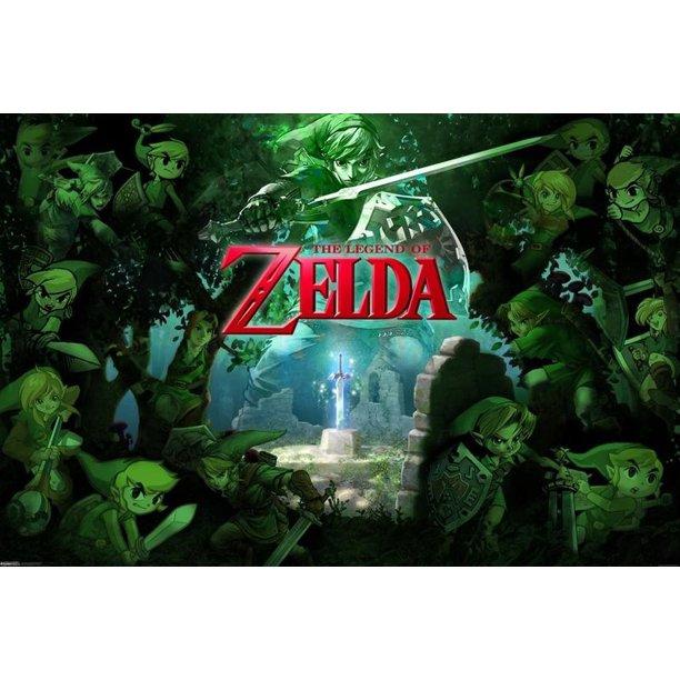 zelda-green-forest-poster