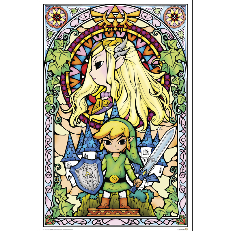 51935-zelda-stained-glass-poster