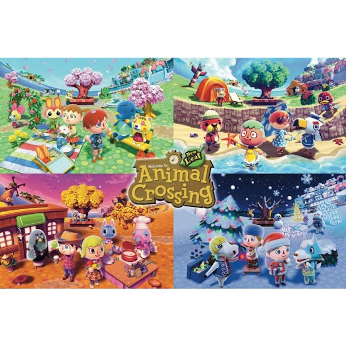 54115-animal-crossing-four-seasons-poster