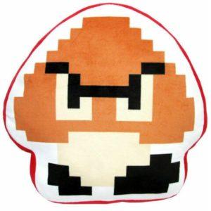 8-Bit Goomba Official Super Mario Cushion Plush