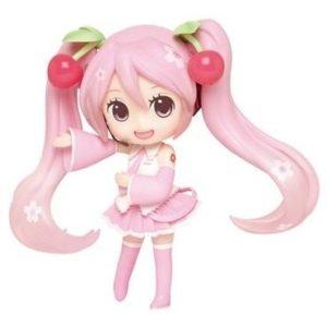 Hatsune Miku Sakura Miku Doll Crystal Figure