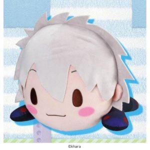 Kaworu Plug Suit Lay-Down Evangelion Plush
