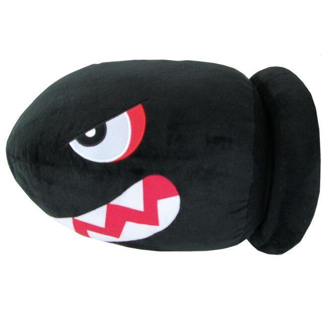 Banzai Bill Official Super Mario Cushion Plush