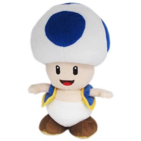 Blue Toad Official Super Mario All Star Collection Plush (1)