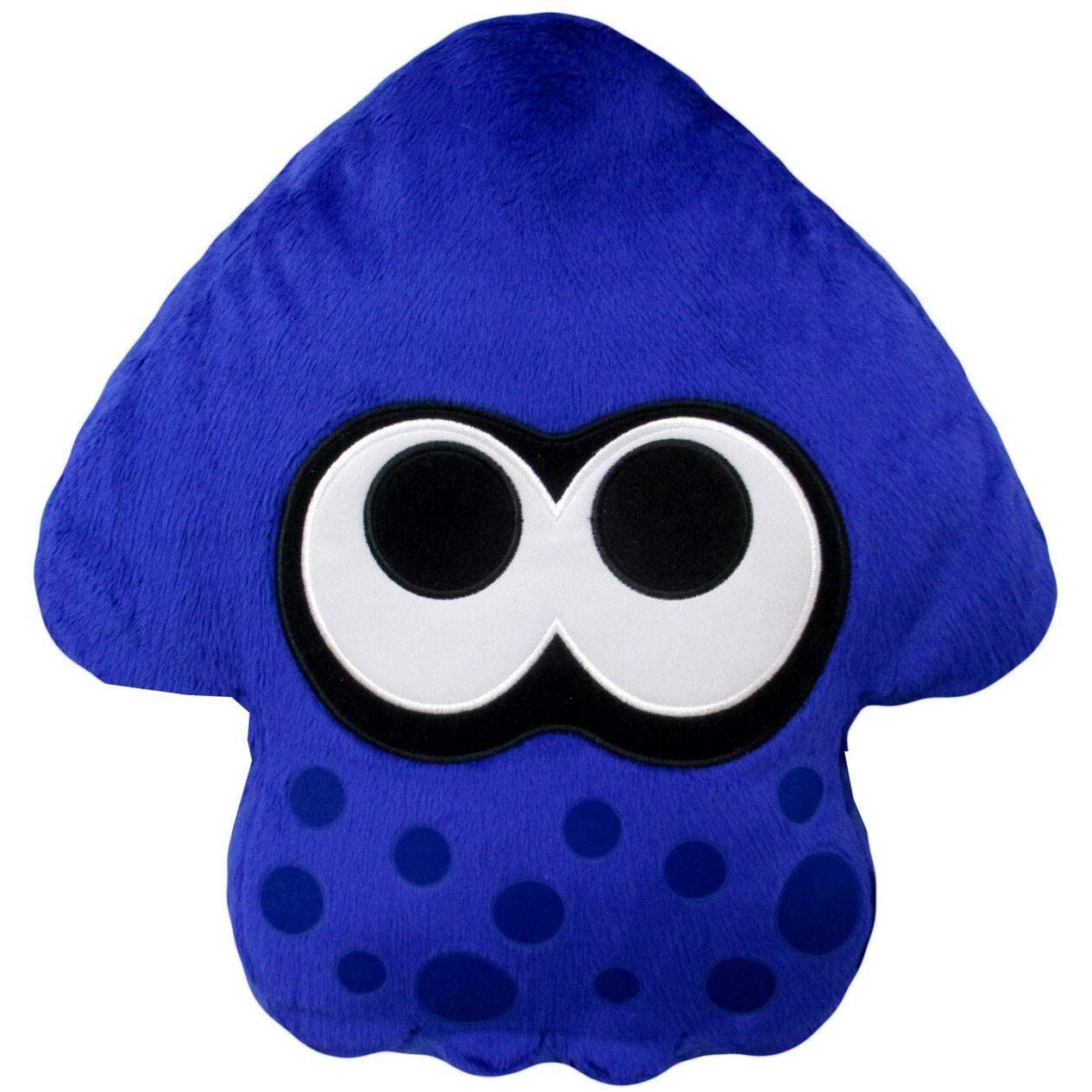 Bright Blue Splatoon 2 Squid Cushion (1)