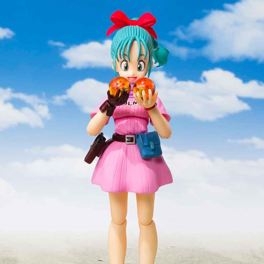 Bulma (Adventure Begins) S.H.Figuarts Figure (Main)