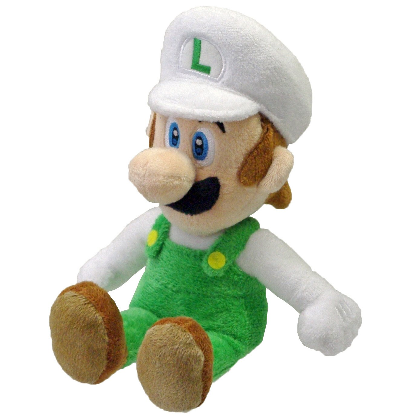 Fire Luigi Official Super Mario Plush (1)