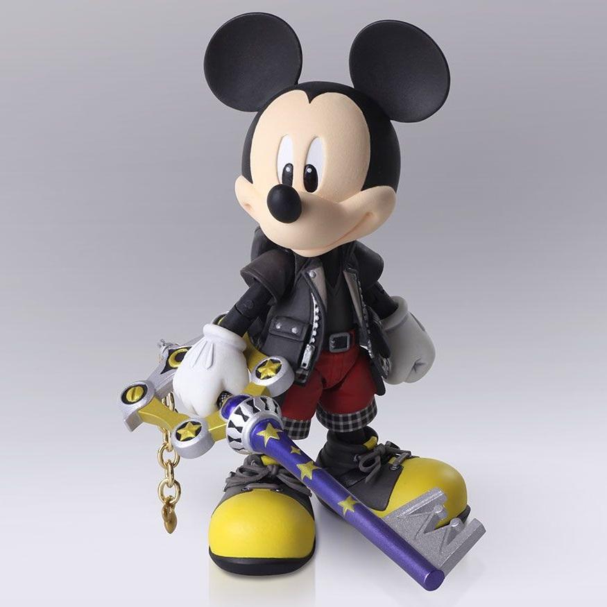 King Mickey Kingdom Hearts III Bring Arts Figure (1)