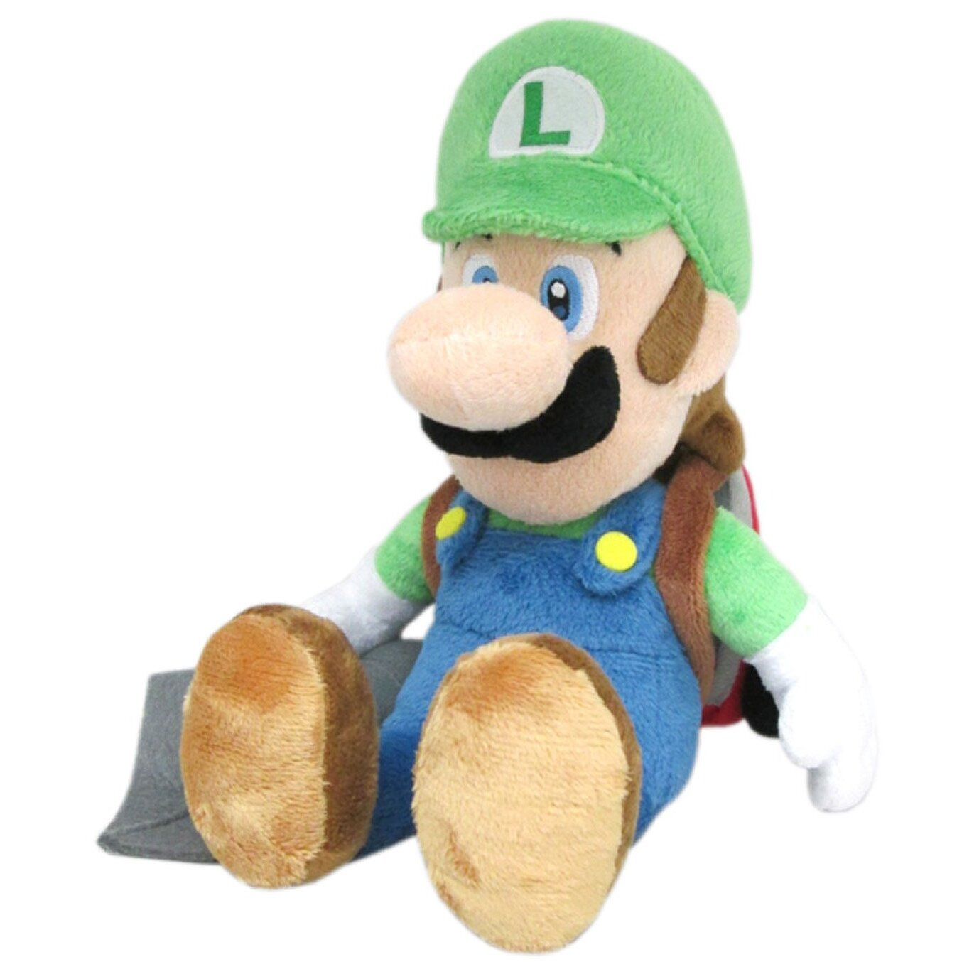 Luigi with Poltergust 5000 Official Luigi's Mansion Plush