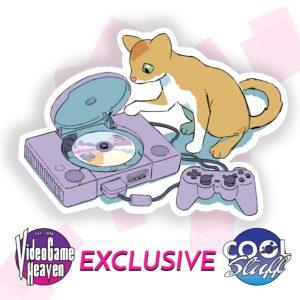 "Mango the Cat ""PlayStation"" Vinyl Decal"