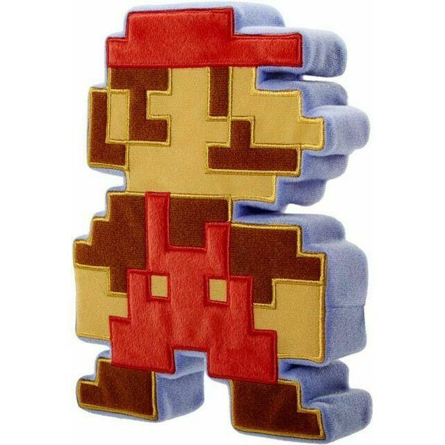 Mario 8-Bit World of Nintendo Plush (1)