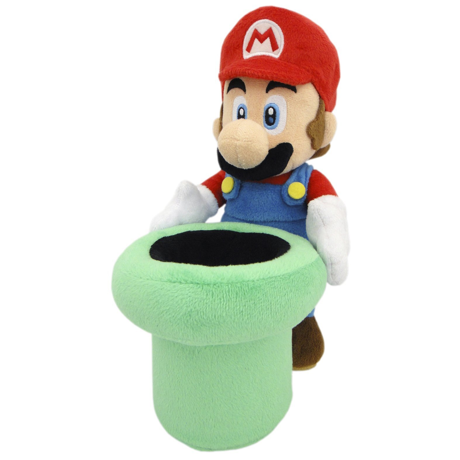 Mario & Warp Pipe Official Super Mario Plush