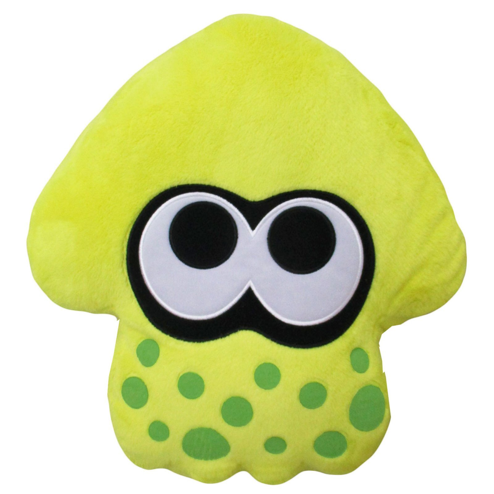 Neon Yellow Splatoon 2 Squid Cushion (1)
