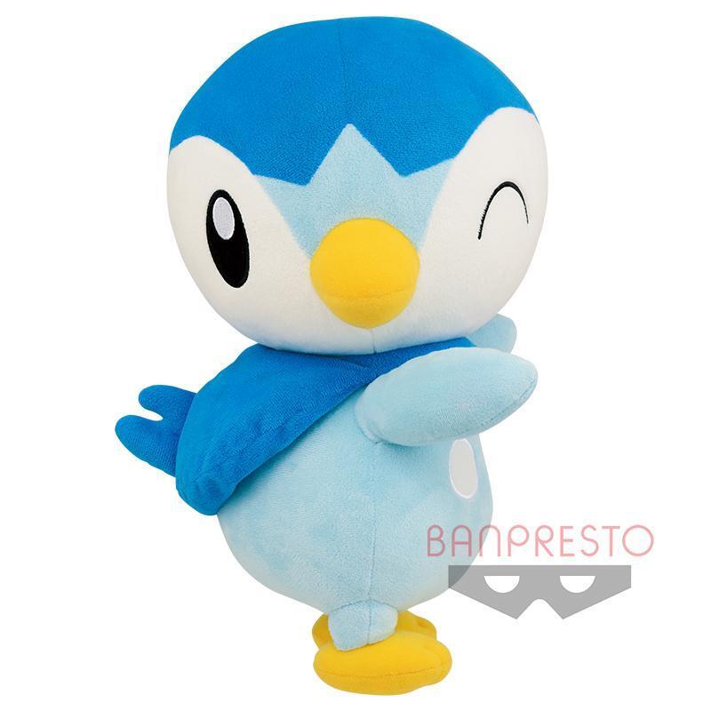 Piplup Jumbo-Sized Pokemon Hopepita Dekkai Banpresto Plush 82037 (1)