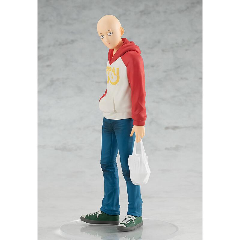 Saitama OPPAI Hoodie Ver POP UP PARADE Figure (1)
