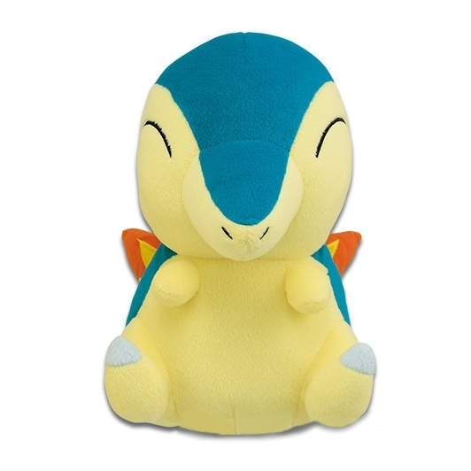 Sitting Cyndaquil Big Banpresto Plush 82118