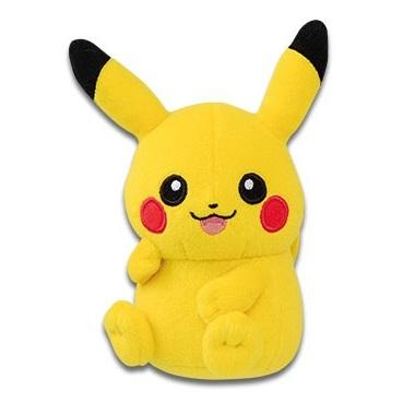 Sitting Pikachu Banpresto Dangler Plush 82112