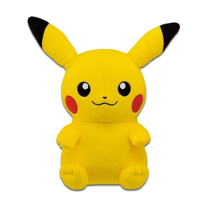 Sitting Pikachu Big Banpresto Plush 82118