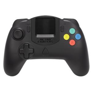 Retro Fighters StrikerDC Dreamcast Controller (Black)