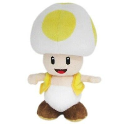 Yellow Toad Official Super Mario All Star Collection Plush (1)