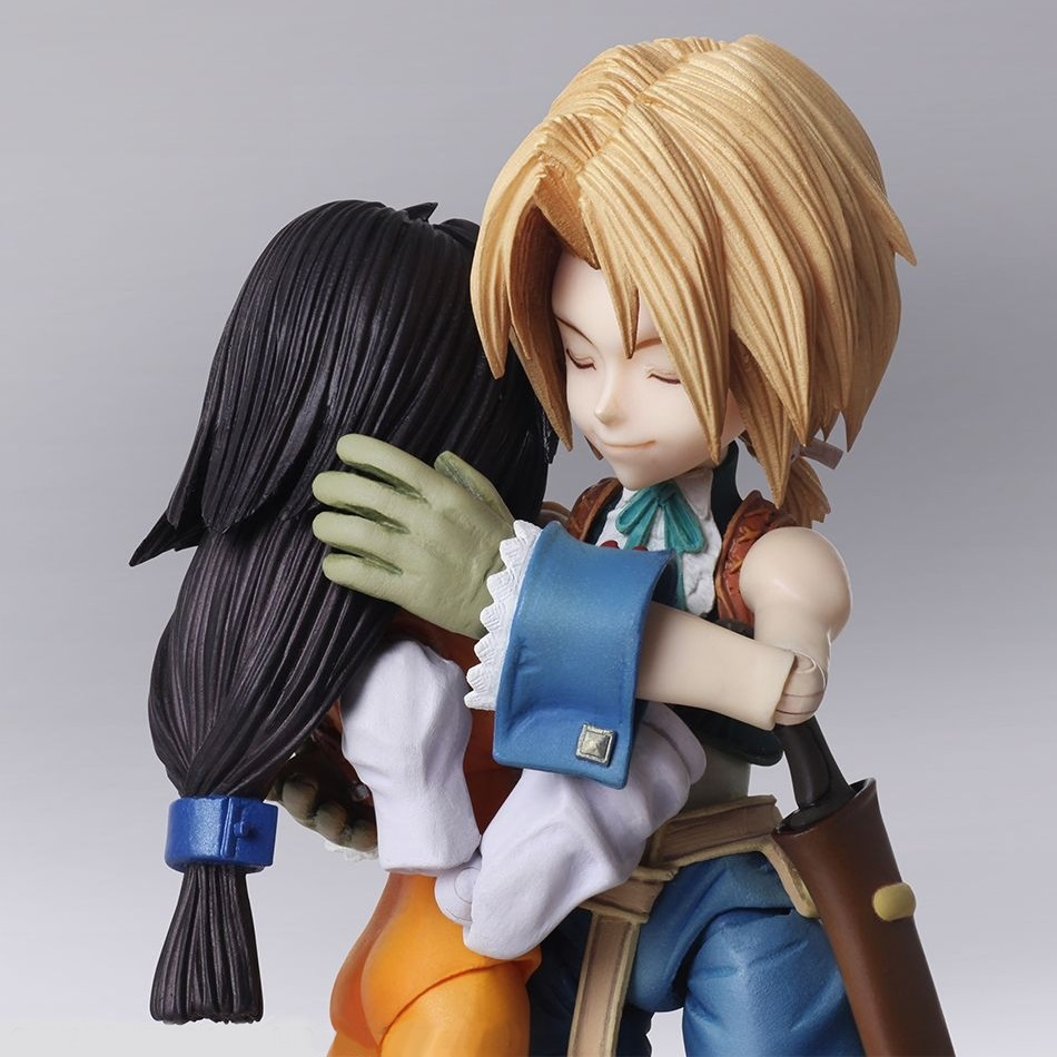 Zidane Tribal & Garnet Til Alexandros XVII Final Fantasty IX Bring Arts Figure 2-Pack (1)