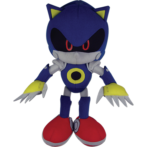 Metal Sonic GE Animation Sonic the Hedgehog Plush (1)