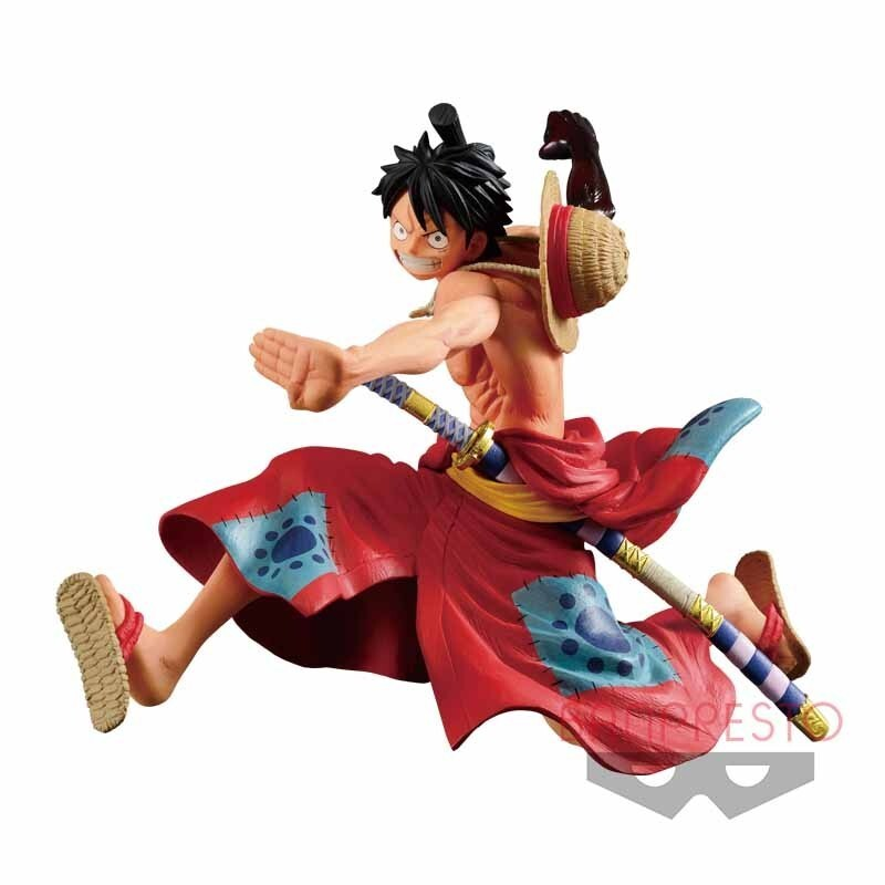 Monkey D. Luffy One Piece Battle Record Collection Figure (1)