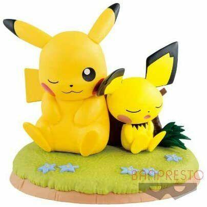 Pikachu & Pichu Relaxation Time Banpresto Prize Figure 82115 (1)