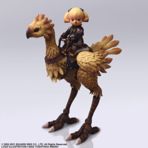 Shantotto & Chocobo Final Fantasy XI Bring Arts Figure