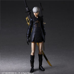 9S (YoRHa No. 9 Type S) DELUXE Ver. Play Arts Kai Action Figure