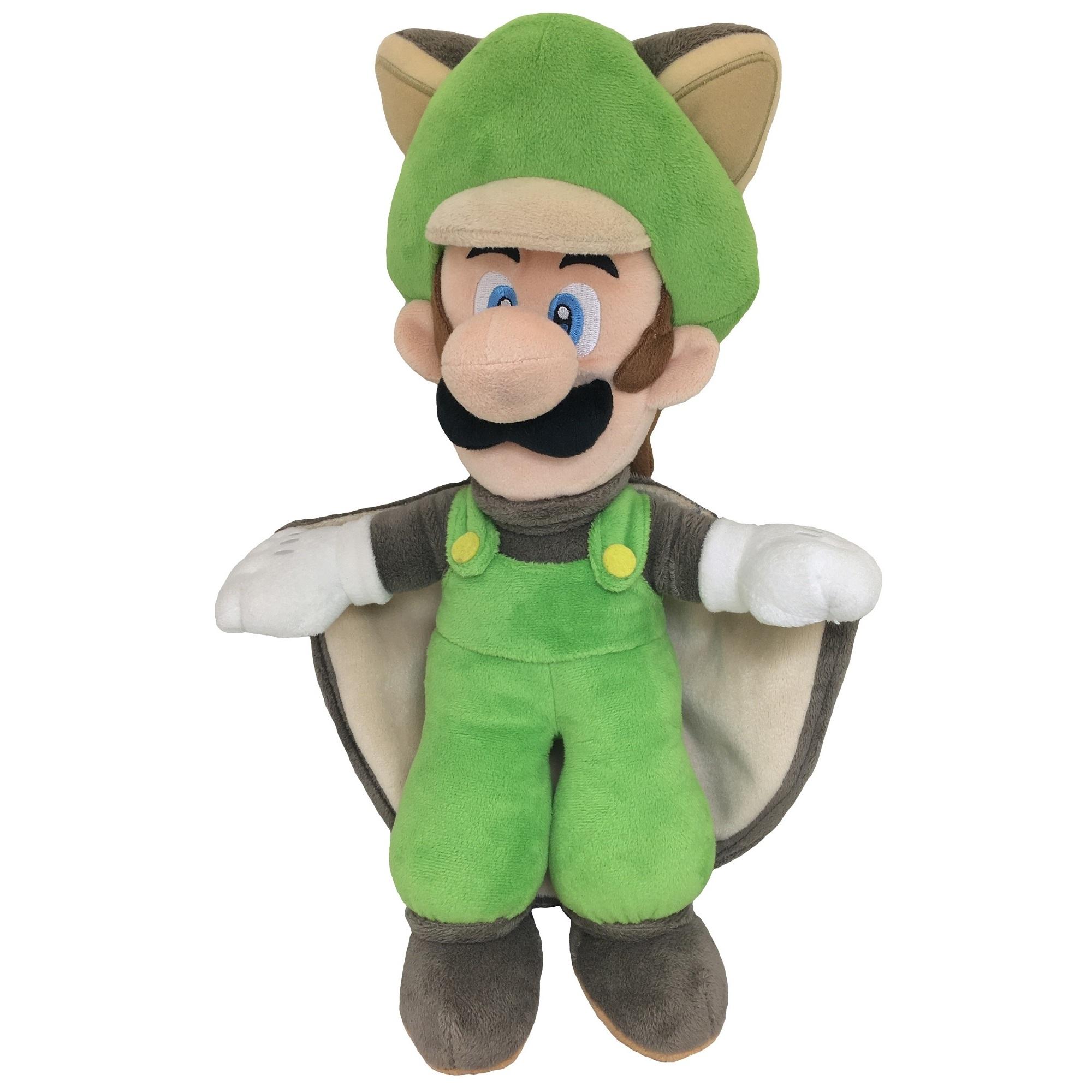 Flying Squirrel (Musasabi) Luigi Official New Super Mario Bros. U Plush (1)