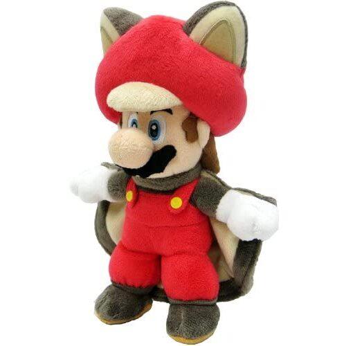 Flying Squirrel (Musasabi) Mario Official New Super Mario Bros. U Plush (1)